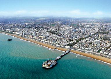 Brighton aerial