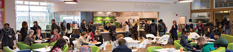 Cockcroft Building cafe area