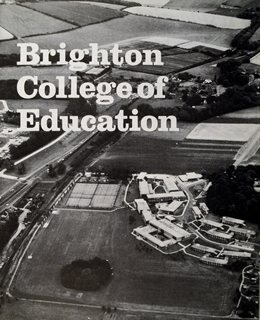 Cover of brochure for Brighton College of Education, 1976