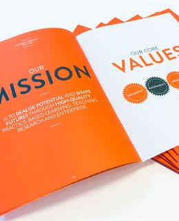 Our mission and values - strategy document