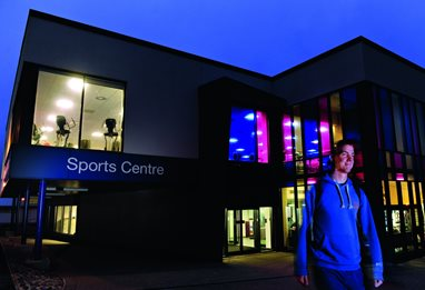 Extensive facilities at Falmer sports centre