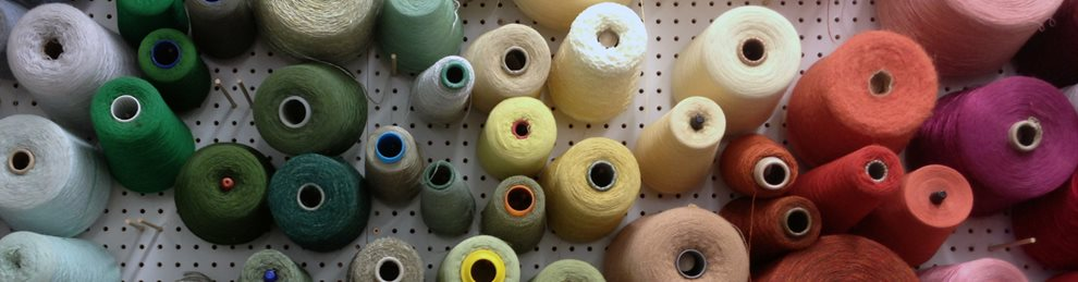 Textiles cotton threads