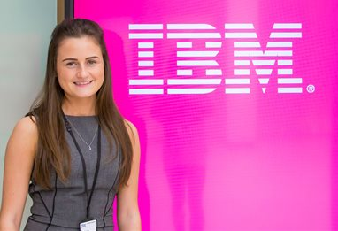 IBM placement student