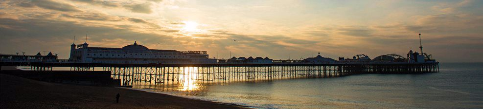 Early sun on Brighton Pier