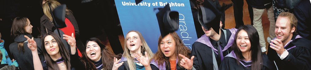 University of Brighton winter graduation