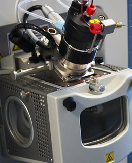 Heated Electrospray Ionisation (Ion Max API housing with HESI-II source)