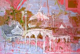Painting of the Royal Pavilion