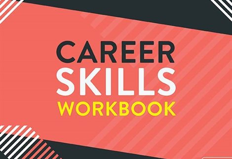 graphic image with text 'Career Skills Workbook'