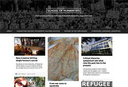 Humanities blog
