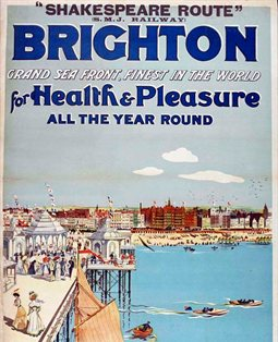 Brighton Health and Pleasure poster