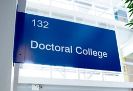 Doctoral-College-Sign