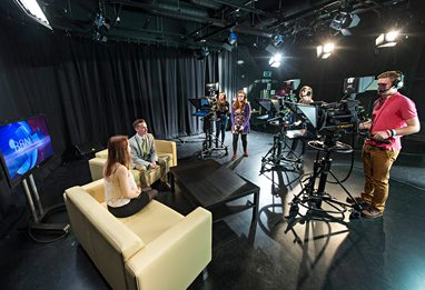 Campus TV studio