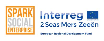 Logo for SPARK project funded by European Regional Development Fund