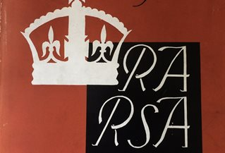 RA RSA British Art in Industry Illustrated Souvenir cover