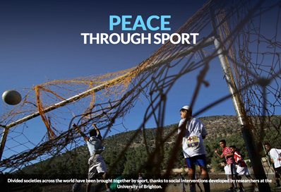 Peace through sport digital feature