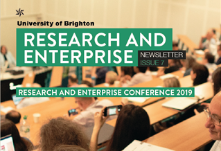 Cover of Research and Enterprise newsletter Summer 2019