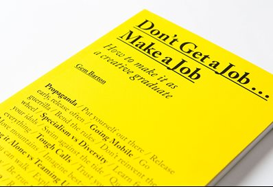 Don't get a job book cover by Gemma Barton