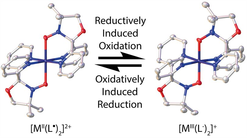 Redox-processes-in-the-metal-radical-cation