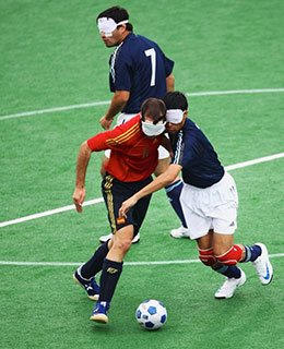 Blind-football-in-action