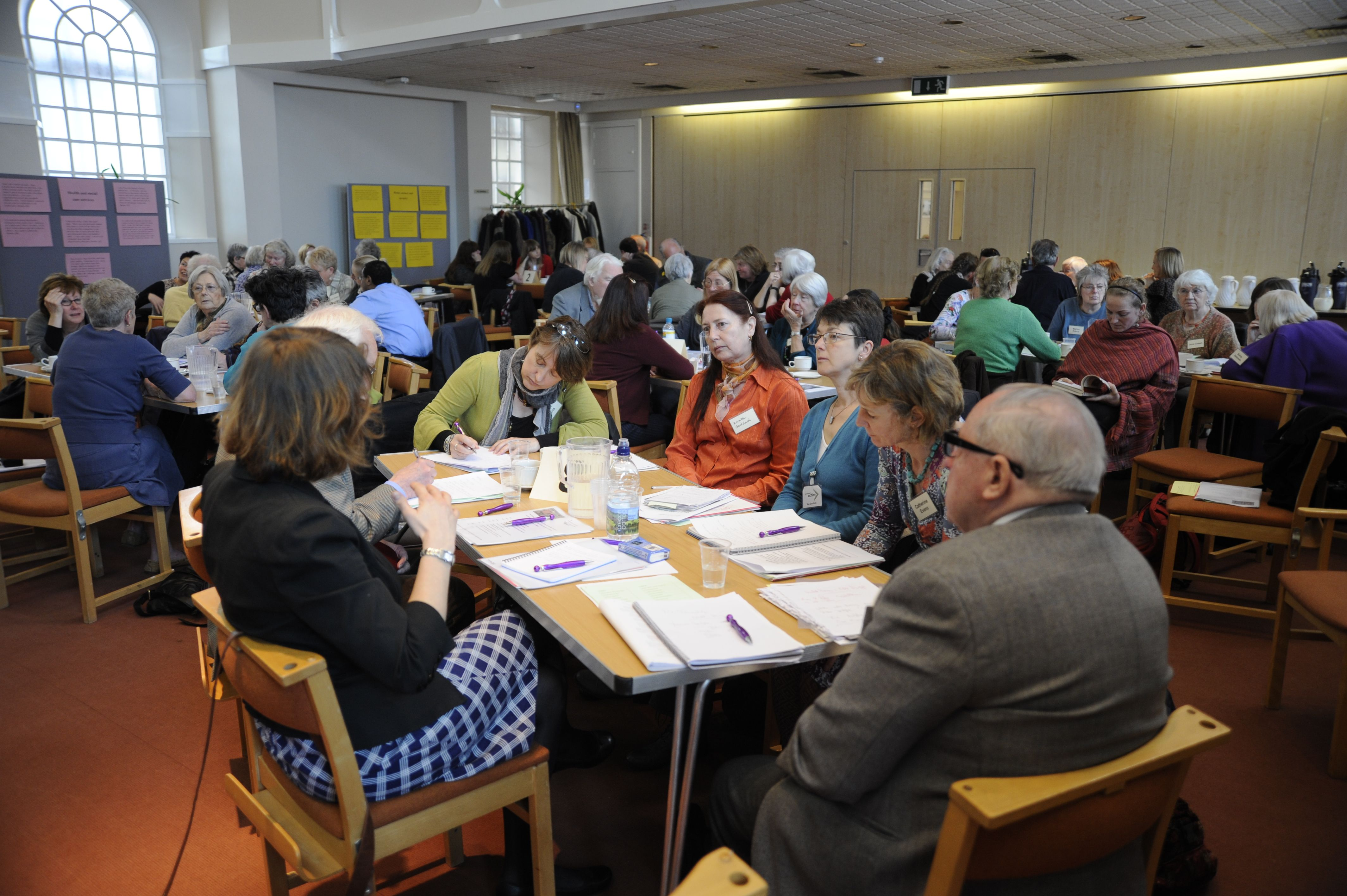Image of group illustrating the Care Ethics and Participation Research and Enterprise Group