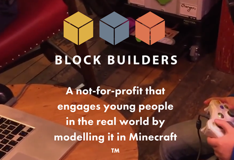 Block Builders advert for Minecraft modelling company