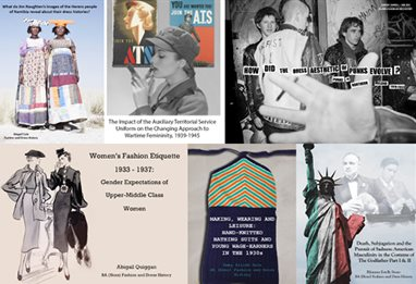 Fashion and dress history montage