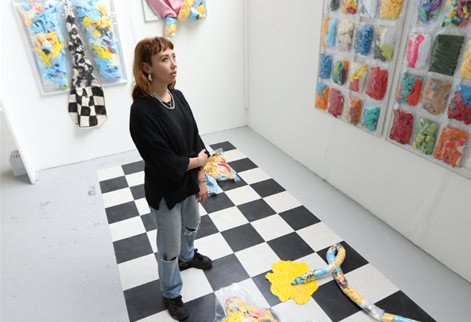 Kezia Turner and her artwork