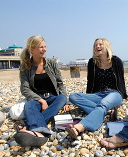 Students in Eastbourne