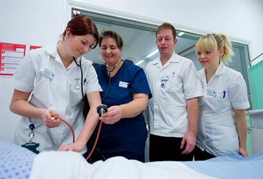 Adult nursing students