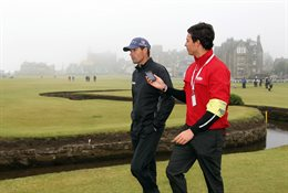 Joel Tadman interviews Padraig Harrington