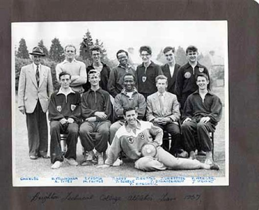 Brighton Students Association Athletic Team 1957