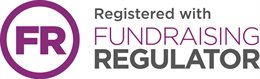 FR logo (Registering with Fundraising Regulator)