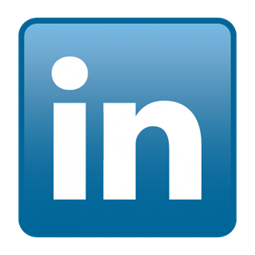 Linkedin logo for new grad page