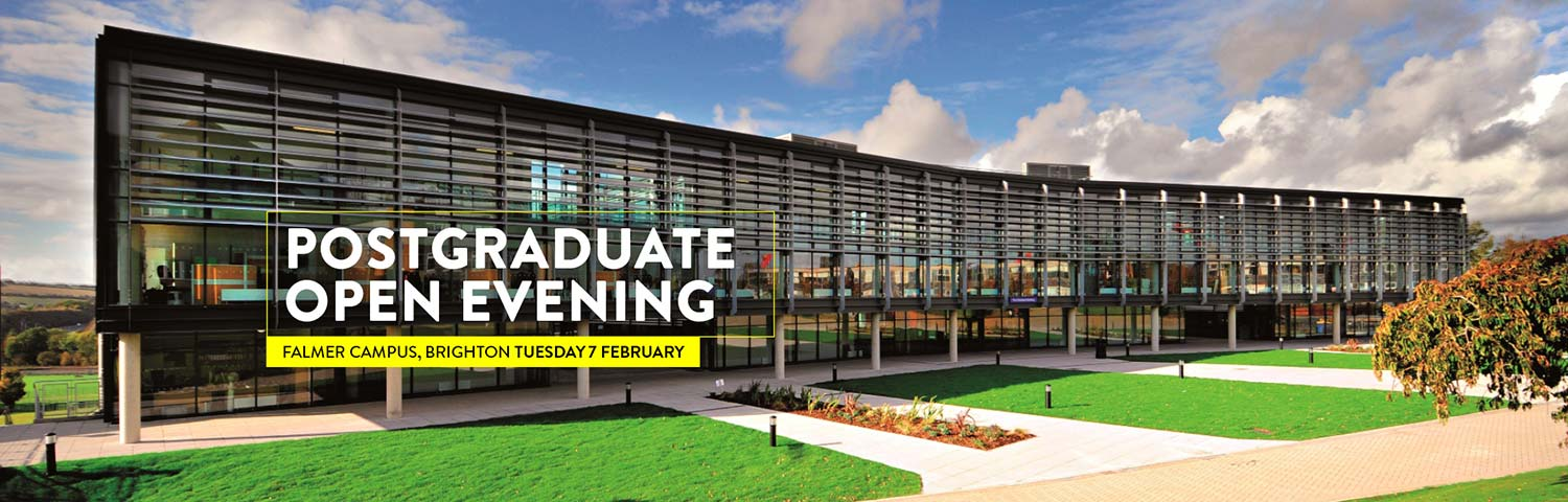 Postgraduate open evening at Falmer 7 February 2017