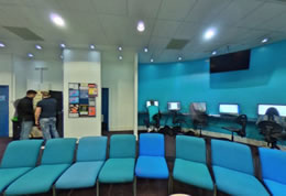 Brighton Business School student lounge