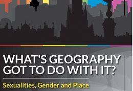 What's geography got to with it? poster