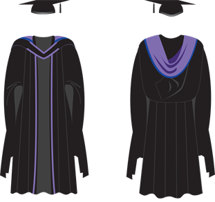 Brighton Master Philosophy gown