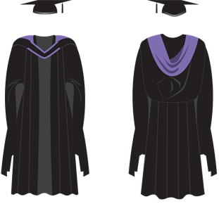 Brighton Masters gown