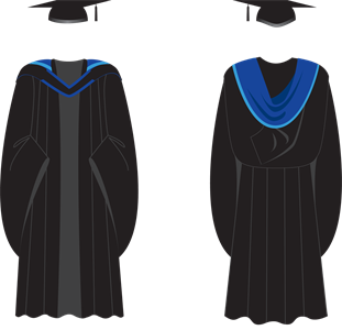 Brighton Postgraduate gown