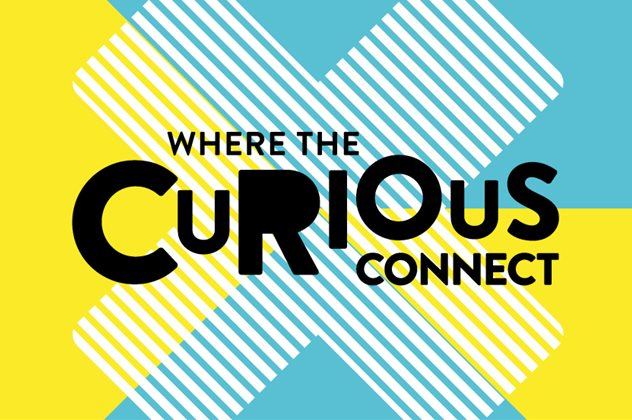 Where the curious connect (graphic)