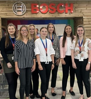 University of Brighton BOSCH placement students