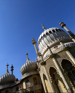 A section of the Royal Pavilion in Brighton