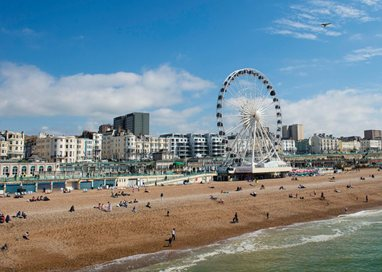 Brighton Wheel from Pier