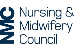 NMC Nursing and Midwifery Council logo
