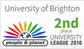Second place in the People & Planet university league 2016