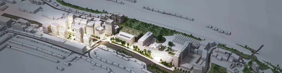 Moulsecoomb development plan image by HASSAL Architects