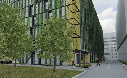 Green campus visualisation