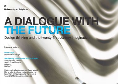 A dialogue with the future Design thinking and the twenty-first century imagination