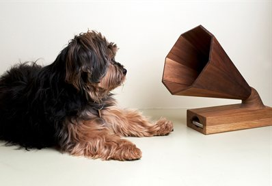 Her Master's Voice: Camilla's iPhone amplifier
