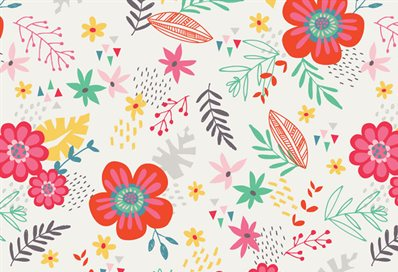 Pattern - Tropical floral